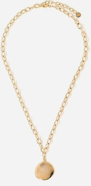 Tess + Tricia Large Coin Necklace Women's Gold