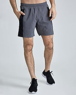 "Fourlaps 7"" Bolt Short Gray Men's L"
