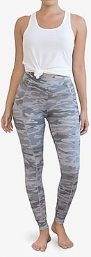 Honeydew Intimates French Terry High Waisted Lounge Legging Camo Women's XL