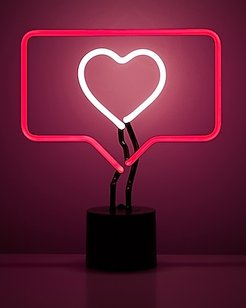 Amped & Co 'fave' Neon Desk Light Red Women's ONESIZE
