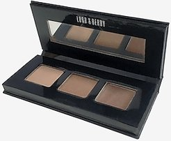 Lord & Berry Strip Kit Eyebrow Styling Set Brown Women's ONESIZE