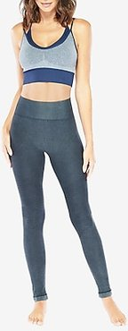 Electric Yoga High Waisted Moto Quilted Leggings Gray Women's XS/S
