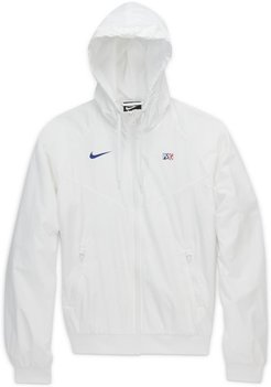 Giacca in woven Paris Saint-Germain Windrunner - Donna - Bianco