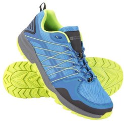 Track Mens Trainers - Blue