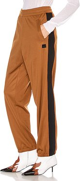 Face Trousers in Brown