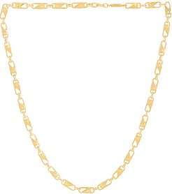 Sling Snap Necklace in Metallic Gold