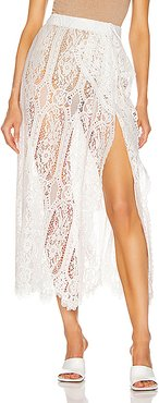 Lace Skirt in Neutral