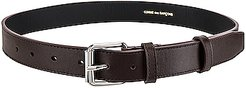 Classic Leather Line B Belt in Brown