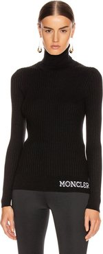 Tricot Cyclist Sweater in Black