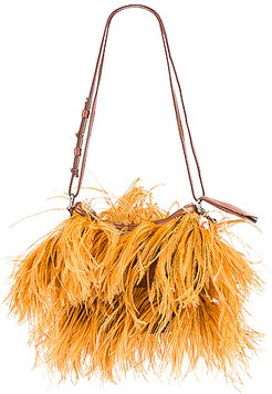 Feather Bag in Brown