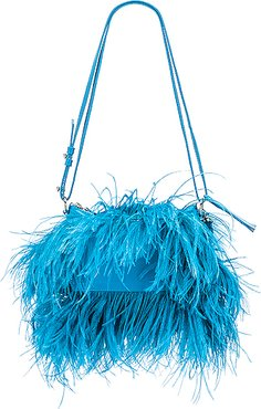 Feather Bag in Blue