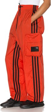 Shell Track Pant in Red