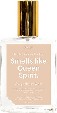 Smells Like Queen Spirit Soothing Elixir in Orange Blossom Vanilla.