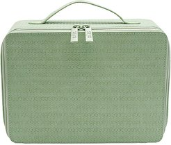 The Cosmetic Case in Green.