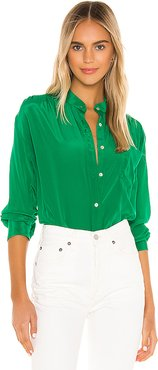 The Ace Shirt in Green. - size XS (also in S)