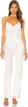 New Moon Jumpsuit in White. - size XXS (also in XL)