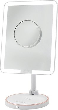Royale Petit Makeup Mirror in White.