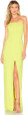 Martell Gown in Yellow. - size 4 (also in 0)