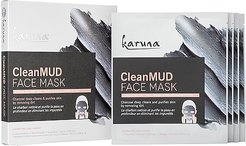 CleanMUD Face Mask 4 Pack in Beauty: NA.