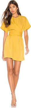 The Everleigh Mini Dress in Mustard. - size M (also in XXS)