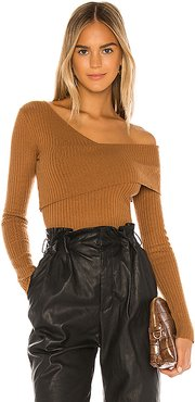 Booker Sweater in Tan. - size XXS (also in XS,S,M,L)