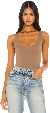 Porter Bodysuit in Taupe. - size M (also in XL)