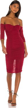 Jared Midi Dress in Pink. - size S (also in M)