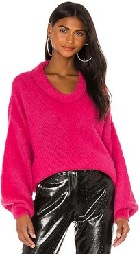 Mohair Pullover in Pink. - size 38/XS (also in 40/S, 42/M)