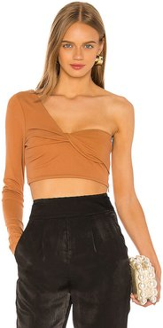 Miller Top in Tan. - size L (also in XL)
