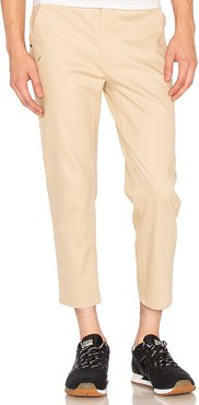 Ankle Pant in Tan. - size 32 (also in 28, 30, 34, 36)