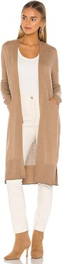 Conor Cardigan in Tan. - size L (also in M,S,XS)