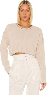 Lucca Sweater in Ivory. - size L (also in M)