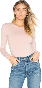 Lilac Bodysuit in Pink. - size XS (also in S)