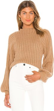 Sofie Sweater in Tan. - size L (also in M)