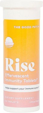 Rise Effervescent Immunity Tablets in Citrus.