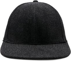 Cryos Cashmere Ball Cap in Black.