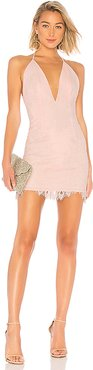O.V.G. Mini Dress in Pink. - size M (also in XS)