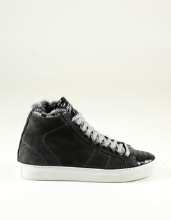 Designer Shoes, Women's Anthracite Shoes