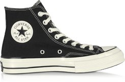Designer Shoes, Chuck 70 High Top Black Canvas Sneakers