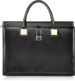 Designer Handbags, Anniversary Black Ayers and Leather Tote
