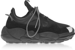 Designer Shoes, Anatomia Neoprene and Suede Runner Sneakers