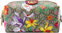 Ophidia GG Flora cosmetic case