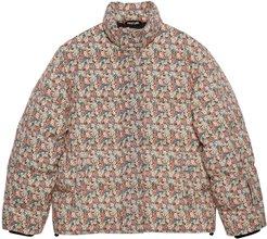 Liberty floral wool down jacket