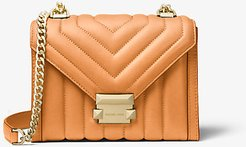 Whitney Small Quilted Leather Convertible Shoulder Bag
