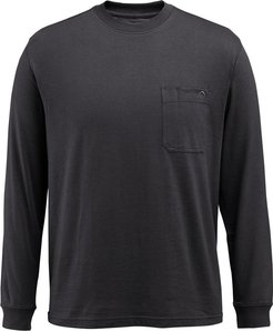Knox Long Sleeve Tee Black, Size M