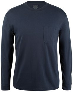 Knox Long Sleeve Tee Dark Navy, Size M