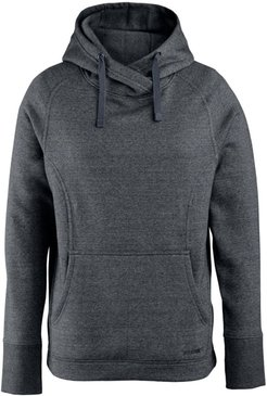 Madison Pullover Hoody Black Heather, Size L
