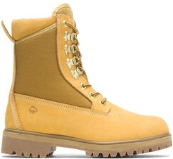 """Gold Panel Waterproof Insulated 8"""" Work Boot Gold, Size 13 Extra Wide Width"""