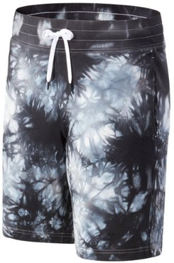03588 Men's NB Basketball Blacktop Tie Dye Short - Black/Grey (MS03588BKM)