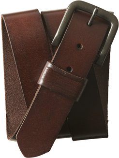 Solid Core Leather Belt - Brown, XLarge
